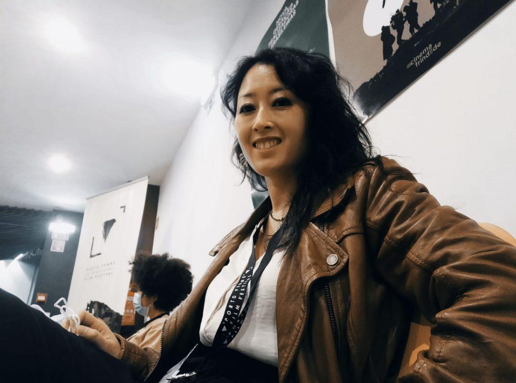 Satoko Kojima durante el festival