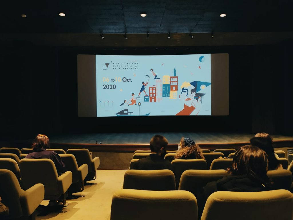 Sala de Cinema Trindade donde se presentó We have a dream