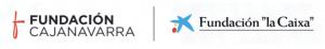 Logo Fundación Caja Navarra y Fundación La Caixa